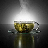 A diet based on green tea A diet based on green tea